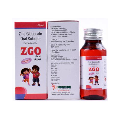 Zinc Gluconate Oral Solution